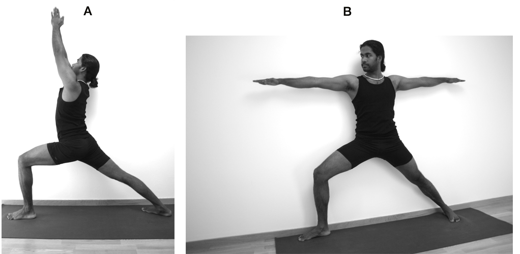 virabhadrasana-buildup